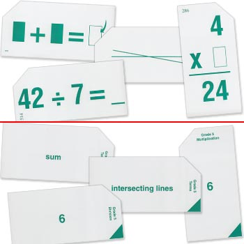 Grade 5 Study Time Arithmetic - Flash Cards