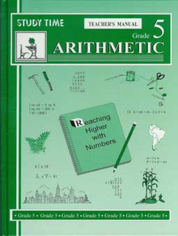 DISCOUNT - Grade 5 Study Time Arithmetic - Teacher's Manual