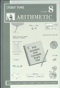 Grade 8 Study Time Arithmetic - Textbook