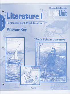 Literature I - Perspectives of Life in Literature - (2009) Answer Key 6-10