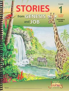 "VBS - Grade 1 ""Stories from Genesis and Job"" Teacher's Guide and Posters"