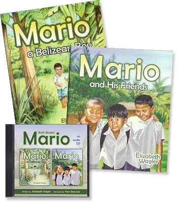 Mario (Two-Book Set) - Audio CD and Books