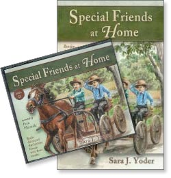 Special Friends at Home (A Benjie Story) - Audio CD and Book Set