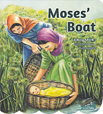 "Moses' Boat - ""Bible Boats for Little Folks Series"" (board book)"