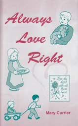 Always Love Right - Activity Book