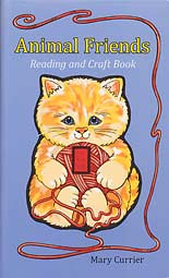 Animal Friends Reading and Craft Book