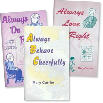 "Set of 3 ""Always"" Activity Books"