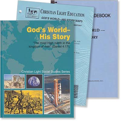 "Grade 6 or 7 - CLE Social Studies - ""God's World—His Story"" Set"