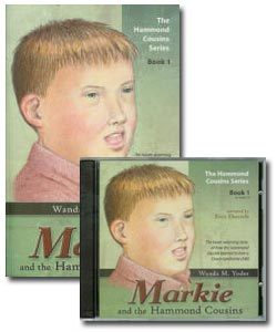 Markie and the Hammond Cousins - Audio CD and Book Set