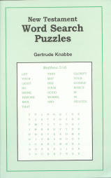 New Testament - Word Search Puzzles