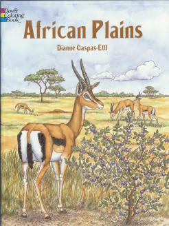 African Plains - Coloring Book