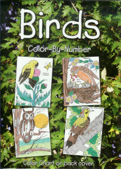 Birds - Color-By-Number