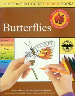 Peterson Field Guide Color-In Books - Butterflies