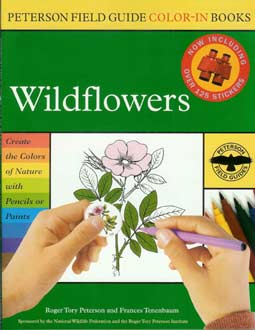 Peterson Field Guide Color-In Books - Wildflowers