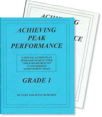 Grade 1 - Achieving Peak Performance - Test Preparation