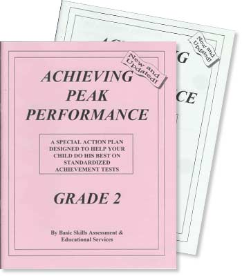 Grade 2 - Achieving Peak Performance - Test Preparation