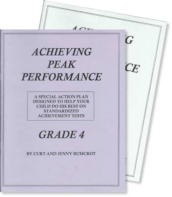 Grade 4 - Achieving Peak Performance - Test Preparation