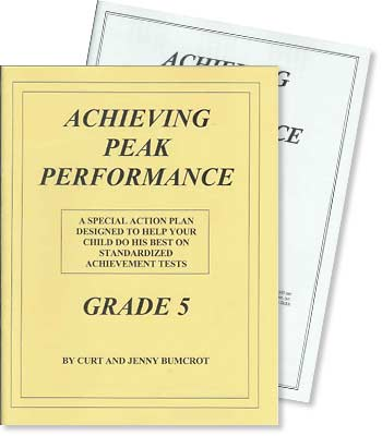 Grade 5 - Achieving Peak Performance - Test Preparation