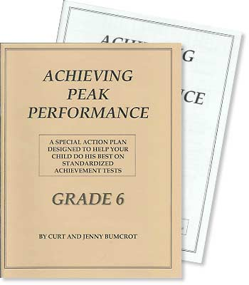 Grade 6 - Achieving Peak Performance - Test Preparation