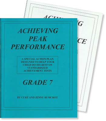 Grade 7 - Achieving Peak Performance - Test Preparation