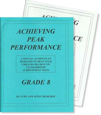 Grade 8 - Achieving Peak Performance - Test Preparation