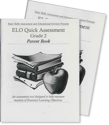 Grade 2 - ELO (Essential Learning Objectives) Quick Assessment Test