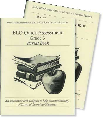 Grade 3 - ELO (Essential Learning Objectives) Quick Assessment Test
