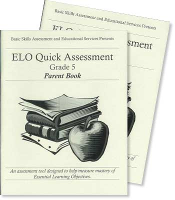 Grade 5 - ELO (Essential Learning Objectives) Quick Assessment Test