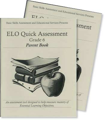 Grade 6 - ELO (Essential Learning Objectives) Quick Assessment Test