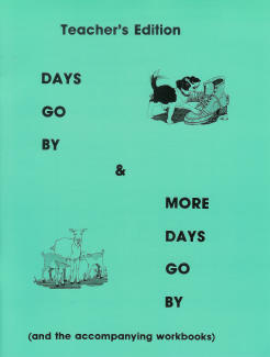"Grade 1 Pathway ""Days Go By"" and ""More Days Go By"" Workbooks (Teacher's Edition)"