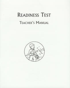Grade 1 Readiness Test - Teacher's Manual