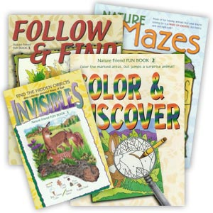 "Set of 4 ""Fun Book"" Activity Books"