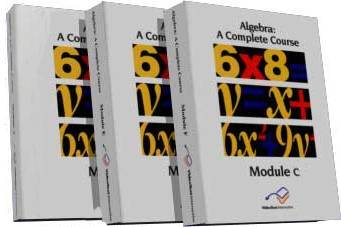 Algebra Modules - A,B,C Set