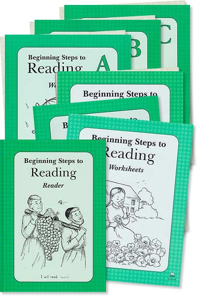 "Grade 1 BSR ""Beginning Steps to Reading"" Set"