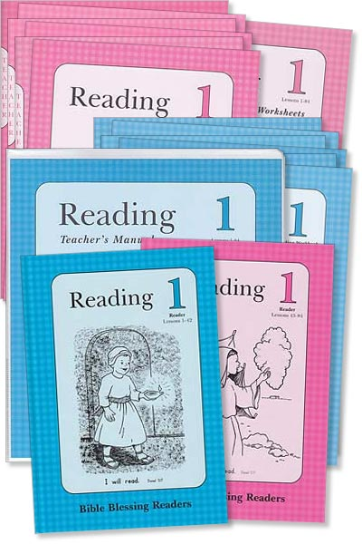 "Grade 1 BBR ""Reading 1"" Set"