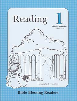 Grade 1 BBR Reading 1 - Reading Workbook (Lessons 1-28)