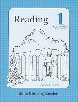Grade 1 BBR Reading 1 - Reading Workbook (Lessons 29-56)