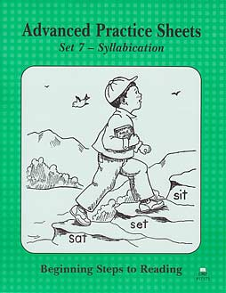 Grade 1 BSR - Advanced Practice Sheets - Set 7 Syllabication