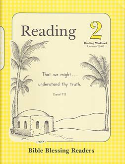 Grade 2 BBR Reading 2 - Reading Workbook Answer Key (Lessons 29-63)
