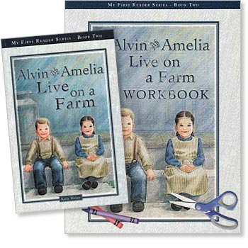 Alvin and Amelia Live on a Farm - Book Two Set