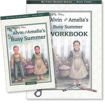 Alvin and Amelia's Busy Summer - Book Three Set