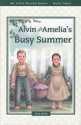 Alvin and Amelia's Busy Summer - reader