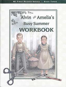 Alvin and Amelia's Busy Summer - workbook