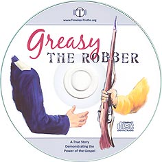 Greasy the Robber - Audio CD