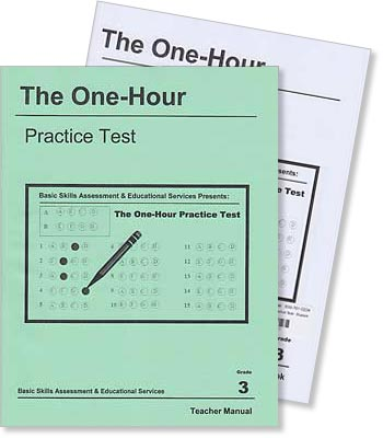 Grade 3 - The One-Hour Practice Test - Test Preparation