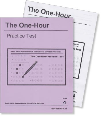 Grade 4 - The One-Hour Practice Test - Test Preparation