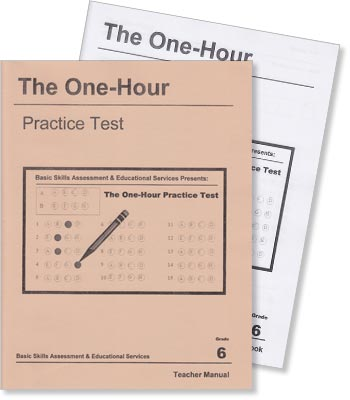 Grade 6 - The One-Hour Practice Test - Test Preparation