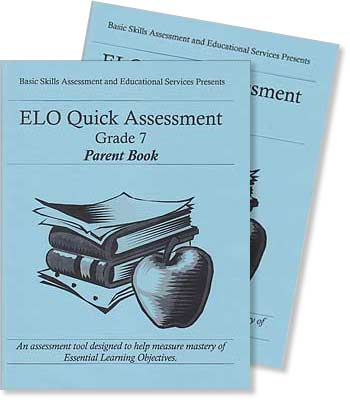 Grade 7 - ELO (Essential Learning Objectives) Quick Assessment Test