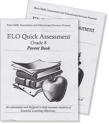 Grade 8 - ELO (Essential Learning Objectives) Quick Assessment Test