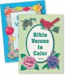 "Set of 2 ""Bible Verses to Color"" Mottoes Coloring Books"